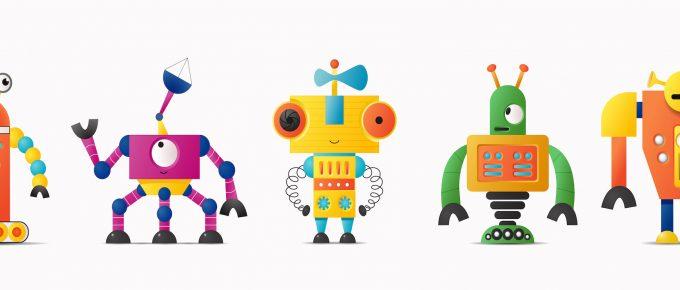 Роботы в Инстаграм